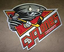 Cincinnati Cyclones ECHL Iron On Hockey Jersey Large Front Patch Crest A