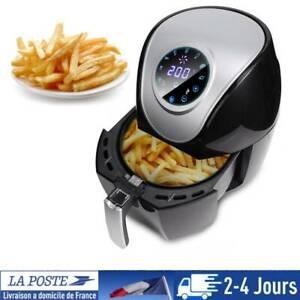 Neuf 5L Friteuse électrique à air chaud sans huile graisse multifonction 1500W