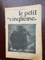 Tintin - Petit Vingtième - n°12 du 26/03/1936 (COUV. TINTIN OREILLE CASSÉE) TBE