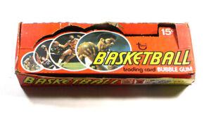 1974-75 Topps Basketball Empty Display Box