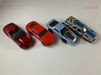 Hot Wheels - Lot of 4 Used Chevrolet Cars - Corvette, Camaro, Chevelle - 1:64