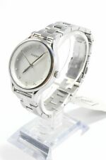 Fossil BQ3320 Laney Three-Hand Silver Tone Stainless Steel Ladies Watch