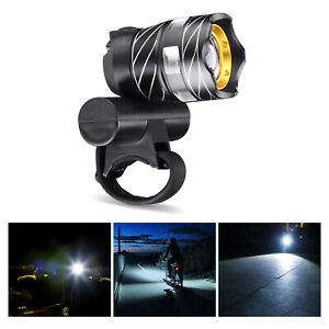 USB Rechargeable Bike Bicycle LED Headlight Front Light 15000LM XM-L T6 LED Lamp