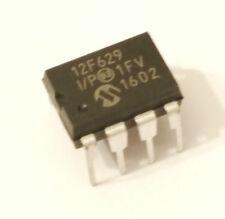 1 X PIC12F629 MICROCONTROLADOR MICROCHIP MCU 6 IO PDIP8 ARDUINO ATTINY