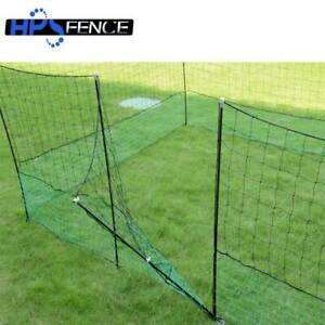 H.P.S Quality Poultry Electric Fence Netting 25mt With Gate For Chickens