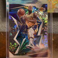 2019-20 Panini Revolution Lebron James #14 IMPACT Serial #'d 78/149 MVP Lakers