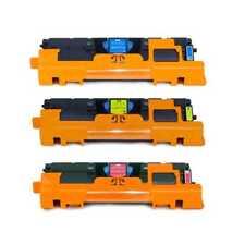 3 x Original Color Toner Q3971A Q3972A Q3973A, 123A, HP Color Laserjet 2550 (np)