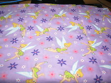 NEW TINKER BELL PERSONALISED BABY GIRLS TAG BLANKETS : GREAT GIFT :