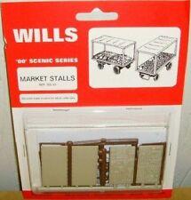 Wills SS37. Market Stalls Kit. NEW (00 Gauge)