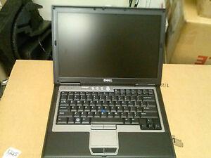 Black Dell Latitude D630 Core 2 Duo 2GB 200GB DVD/RW  Windows 7