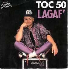 "7"" 45 TOURS FRANCE LAGAF' ""Toc 50"" 1989 ELECTRO HOUSE"