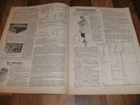 ALLGEMEINE SCHNEIDERZEITUNG 1/1948 -- Sportlicher Reisemantel mit Rundgurt