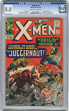 1965 X-Men 12 Cgc 8.0 1st Juggernaut