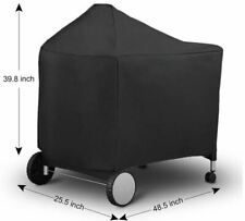 waterproof Black Grill Cover with Storage Bag for Performer Premium Weber 7152