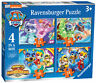 03029 Ravensburger Paw Patrol Mighty Pups 4 in a Box Jigsaw Puzzles Age 3 Years+