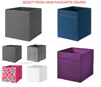 IKEA Folding Storage Box Shelf Organiser Drona for Kallax Units 33x38x33 Fabric