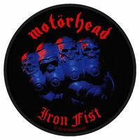 """MOTORHEAD - """"IRON FIST"""" - WOVEN SEW ON PACKED PATCH - OFFICIAL ITEM"""