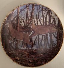 """Cripple Creek� Plate-Friends of the Forest-Bruce Miller-Deer-Buck/Doe-Danb ury"