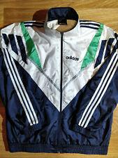 Adidas Originals 90's Vintage Mens Tracksuit Top Jacket Hype Cde Dornbirn Shiny