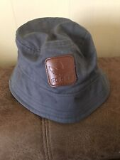 MENS ADIDAS ORIGINALS GREY COTTON BUCKET HAT (Never Worn)
