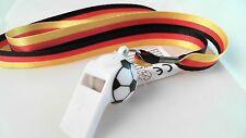 EM WM Deutschland Fanartikel Lanyard KeyholderTrillerpfeife Public Viewing 2016