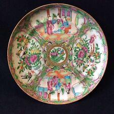 Chine plat céramique porcelaine de Canton XIXe China Asie Asia