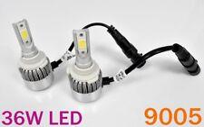 9005 HB3 Bulbs 36W X2 3800LM High Beam High Power LED COB 6000K White K1 K