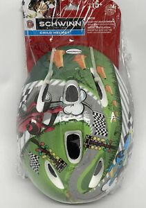 Schwinn Child Helmet MITE - RACECARS Design - Age 5+ Adjustable