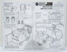 1973 Big Jim Rescue Rig Instruction Sheet - Copy, Laminated