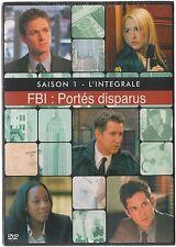 FBI : PORTES DISPARUS  -  Intégrale saison 1 - Coffret 4 boitiers slim - 4 DVD