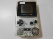 Z15591 Nintendo Gameboy Color console Clear Japan GBC Express x
