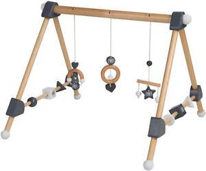 roba Baby Spielbogen Trapez Greiftrainer Holz
