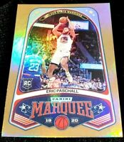 ERIC PASCHALL 19-20 CHRONICLES MARQUEE GOLD HOLO PARALLEL ROOKIE RC 10/10 1/1