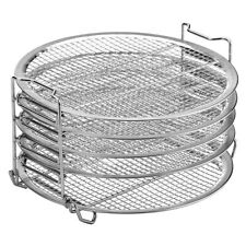 Air Fryer Accessories Grill Stand Dehydrator Stand 5 Layer Stackable BBQ Rack