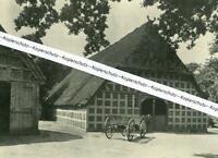 Bauernhaus in Niedersachsen - Ort leider unbekannt - um 1930       W 28-13
