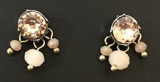 beads & Rhinestone Stud Earrings New Simply Vera Wang Dangle