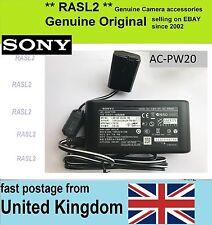 Genuine originale SONY ADATTATORE CA AC-PW20 A7 A7II A7R A7RII A7S A7SII A6300 RX10