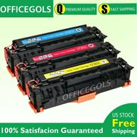 3PK Color Toner For HP CF380A 312A LaserJet Pro MFP M476dn M476dw M476nw Printer