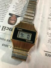 Rare Large Timex vintage LED SSQ wristwatch