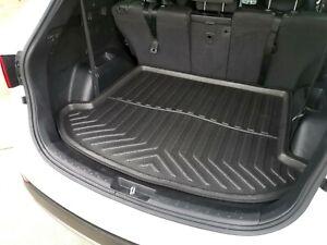 Cargo Trunk Mat Boot Liner Plastic Foam Waterproof for Hyundai Santa Fe 2012-18