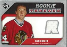2005-06 Upper Deck Rookie Threads #RTCB Cam Barker Jersey - NM-MT