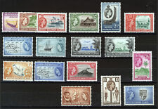 BRITISH SOLOMON ISLANDS 1956-1960 DEFINITIVES SG82/96 MNH