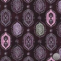 Michael Miller Angelina Aubergine 100% Cotton Fabric By The Yard