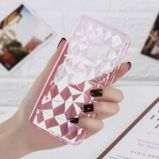 For Samsung Note 9 8 S9 A8 A6 2018 Crystal Bling Diamond Soft Clear Case Cover