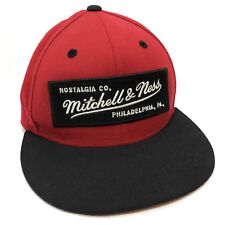 Mitchell & NESS NOSTALGIA CO LOGO pinscript 100% Wool Fitted Cap Baseball 7 1/8