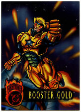Booster Gold #20 Firepower DC Comics 1996 Trade Card (C292)
