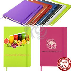 A5 A6 Personalised Notebook Printed Hardback Lined Journal Diary Wholesale Bulk