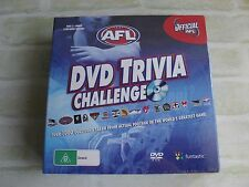 OFFICIAL AFL - DVD TRIVIA CHALLENGE - QUIZ BOARD GAME - NEW SEALED BOX