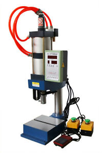 1Ton Pneumatic Punch Press Machine with Digital Controller Stoke 0-50 Adjustable