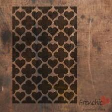 Frenchic CUORI del Marocco Traliccio pattern stencil Chalk Paint A4 Decal Wall Art